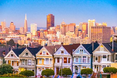 Start der Westküstenrundreise in San Francisco