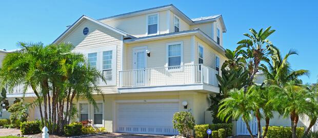 Typisches Ferienhaus in Florida auf Anna Maria Island