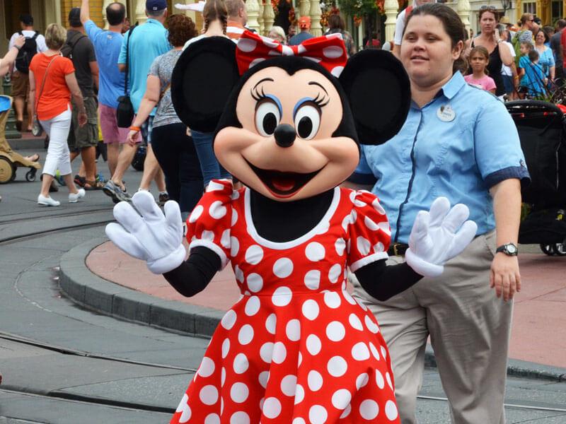 Disneyland Magic Kingdom in Orlando