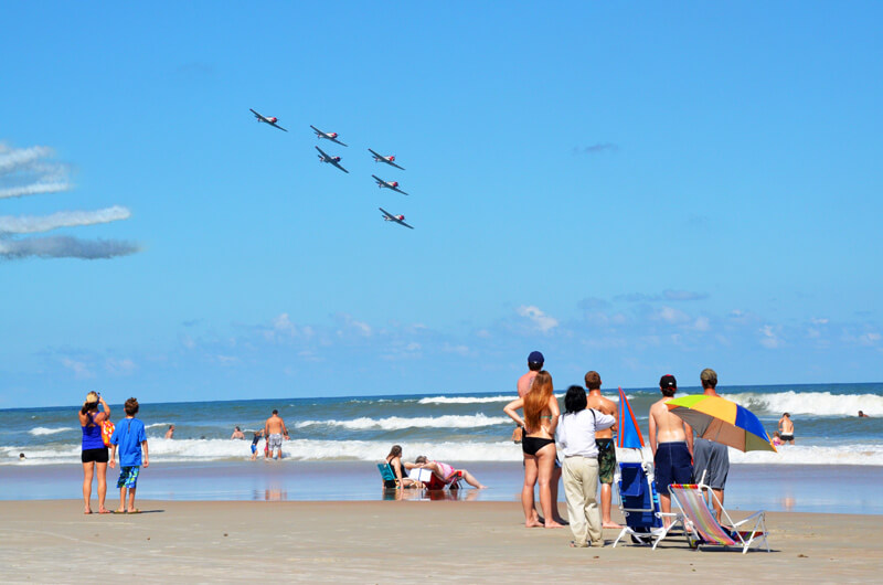 Daytona Beach Fliegerstaffel SNJ 2