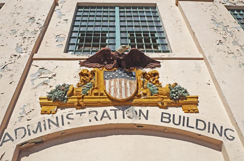 Verwaltungsgebäude auf Alcatraz