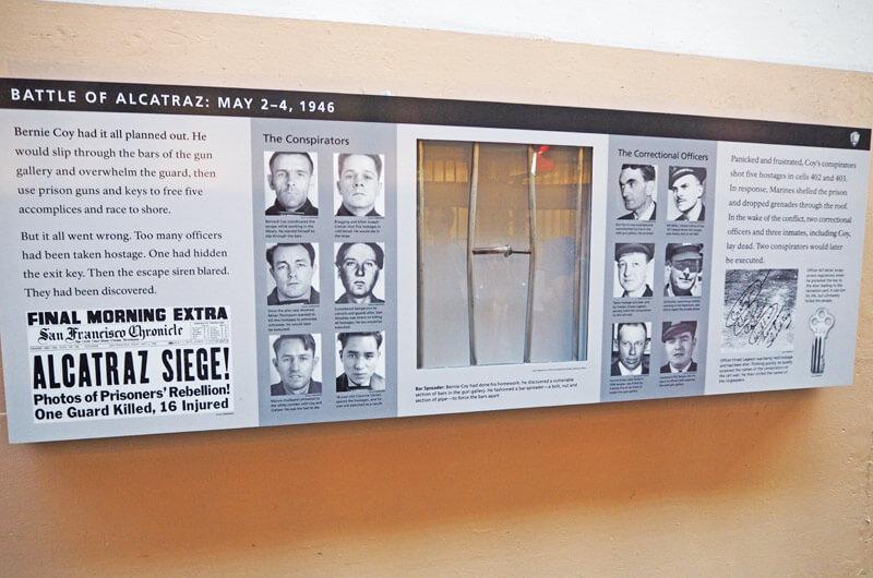 Namen der Ausbrecher von Alcatraz