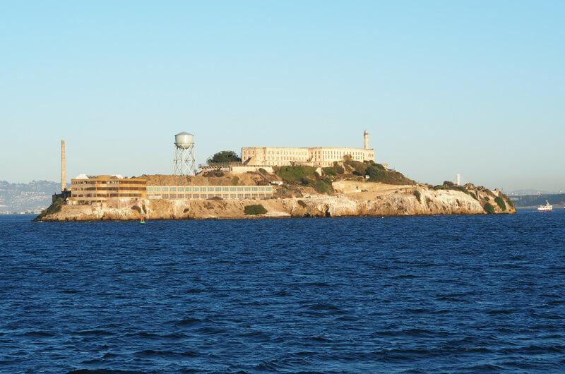 Blick auf die Alcatraz Insel