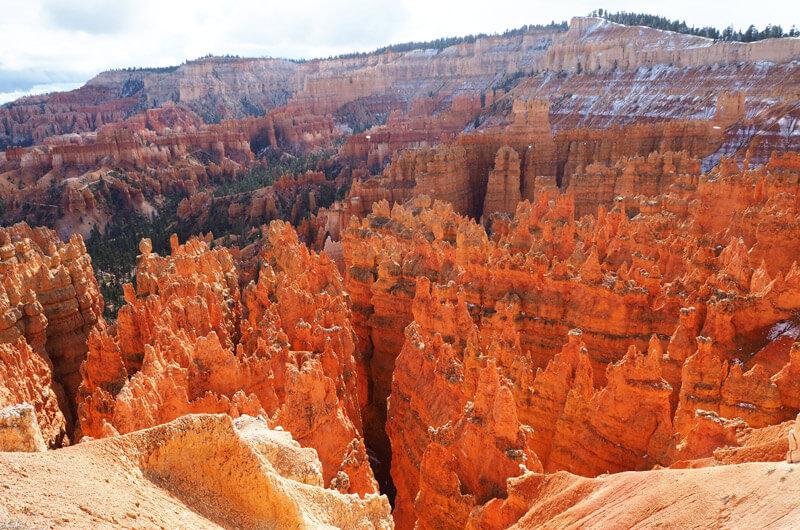 Blick in den Brice Canyon
