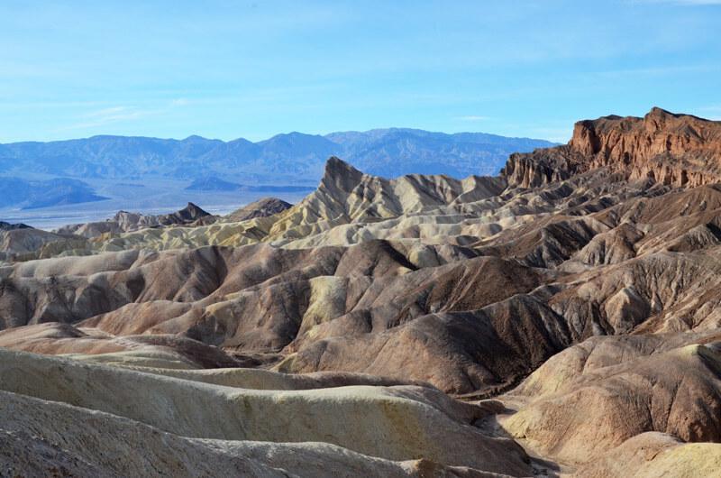 Felsen im Death Valley