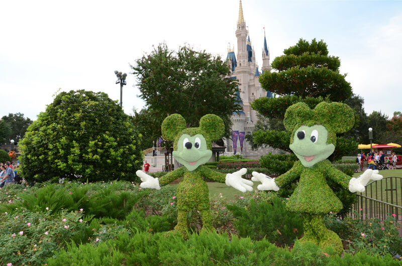 Disney Magic Kingdom Schloss