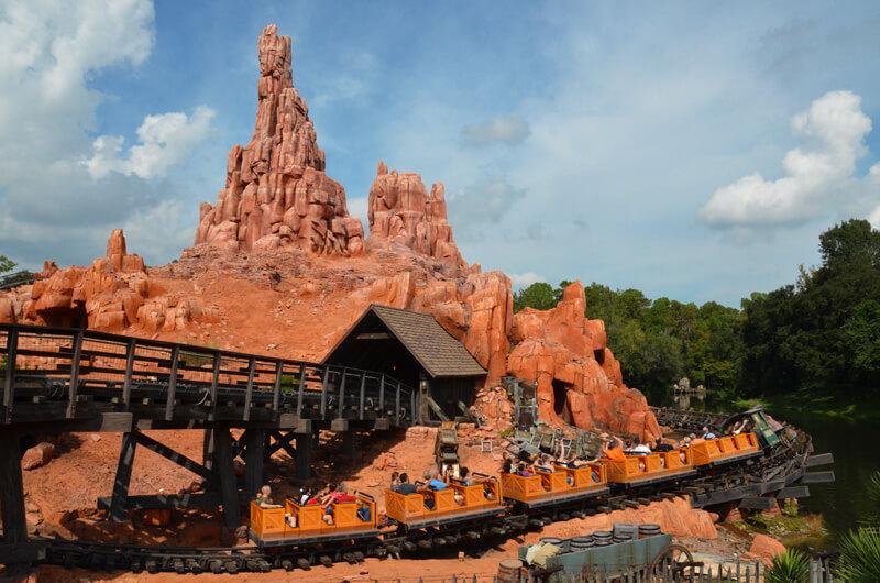 Disney Magic Kingdom Achterbahn