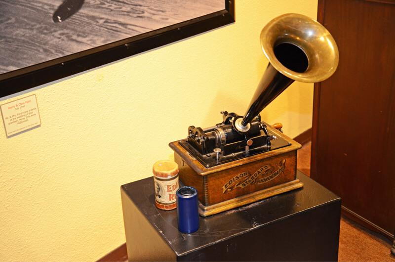 Der Phonograph, Erfindung Edisons
