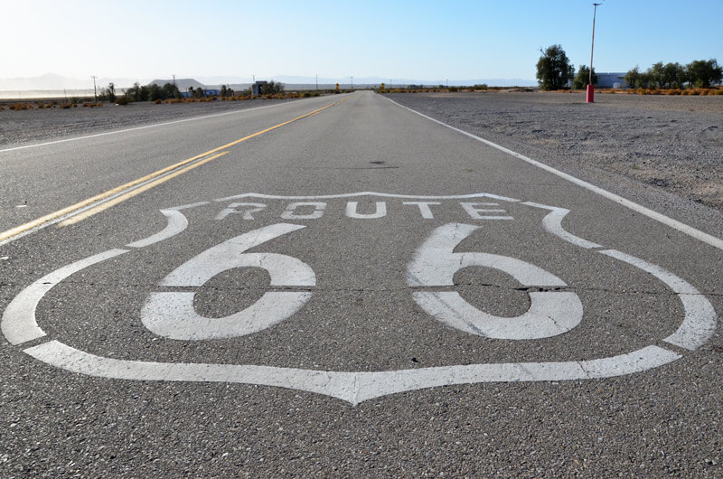 Route 66 Bemalung