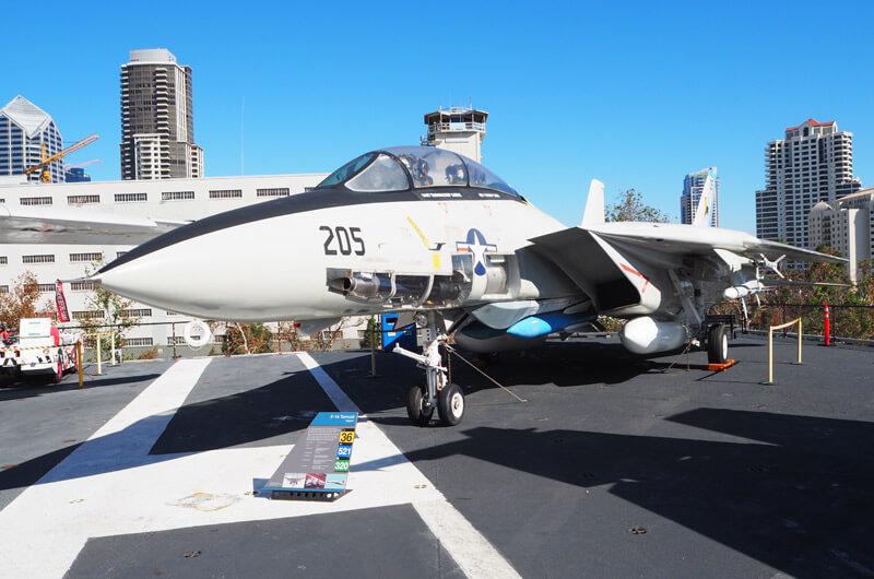 Flugzeug auf der USS Midway