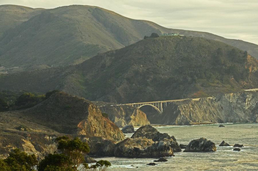 Highway No 1 in Kalifornien