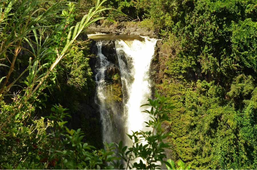 Wasserfall auf dem Highway to Hana