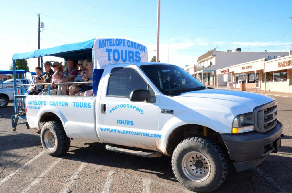Tour zum Lower Antelope Canyon