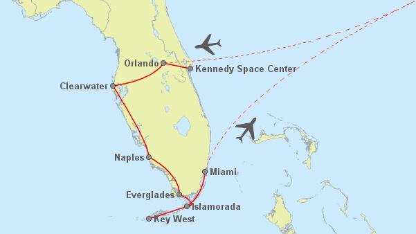 14 Tage Florida MCO-MIA - 423