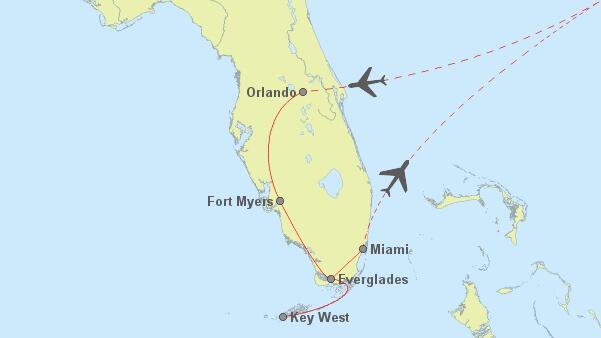 8 Tage Florida - 825
