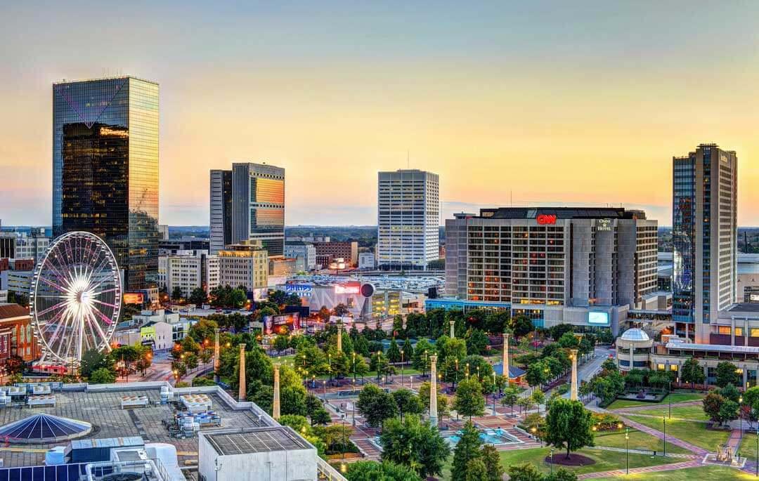 Georgia & die Carolinas - 624