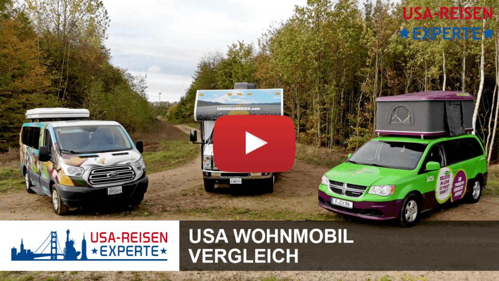 Video USA Wohnmobil Vergleich
