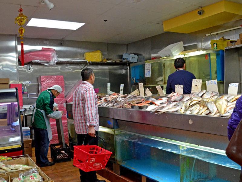 Chinatown San Francisco Fischmarkt