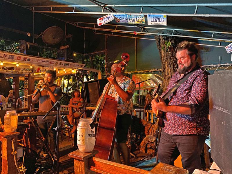 Band spielt in der Duval Street