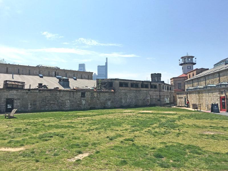 Innenhof vom Eastern State Penitentiary