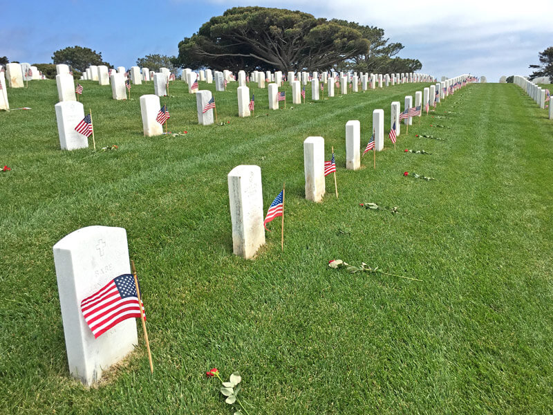 Fort Rosecrans National Cemetery Denkmal