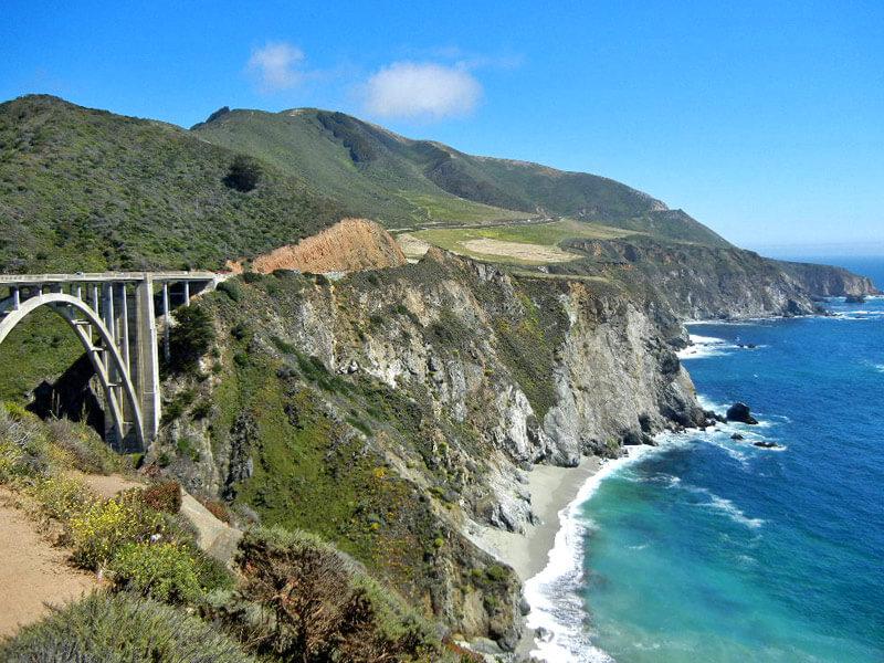 Brücke auf dem Highway No 1