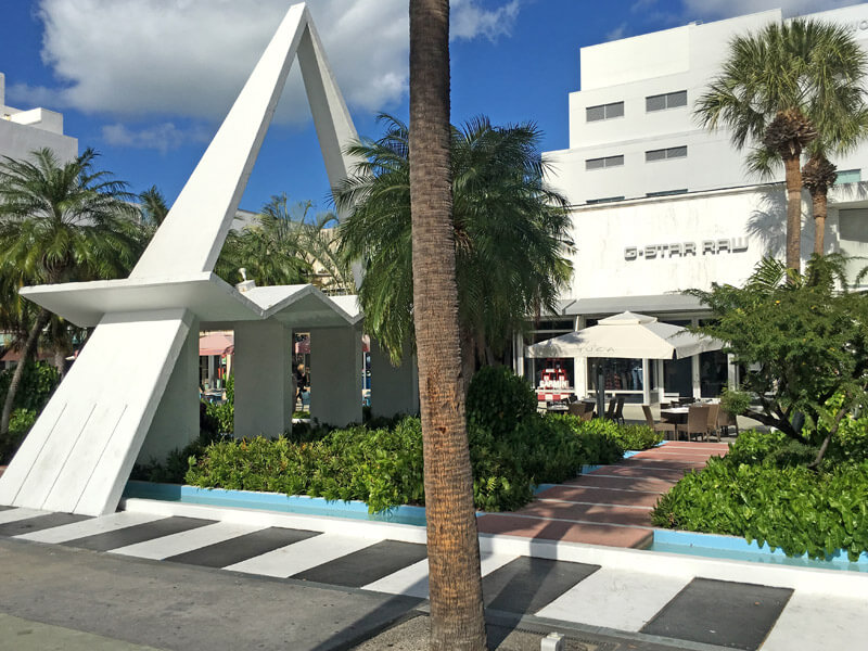 Lincol Road Miami Einkaufsstraße