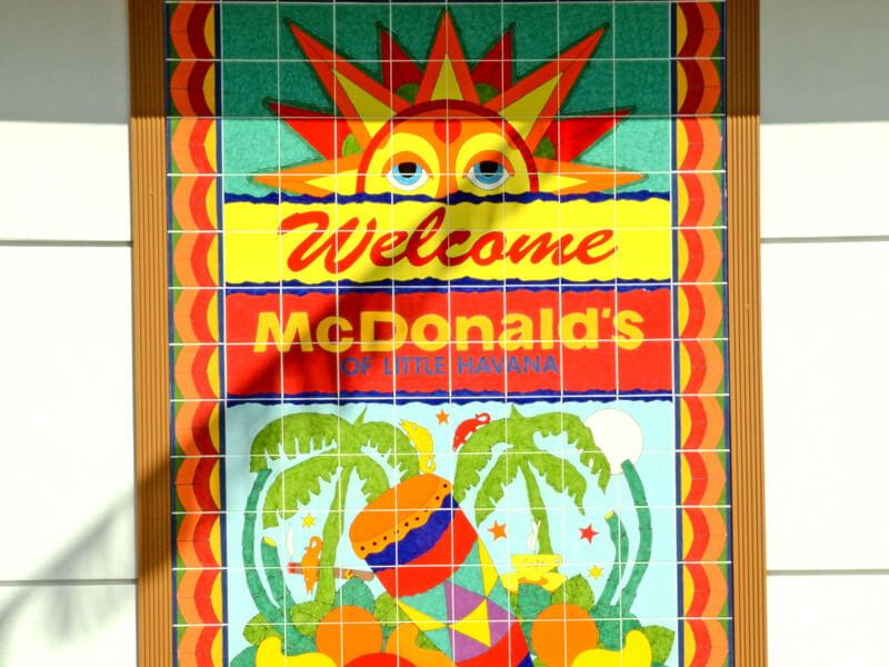 Little Havana Mc Donalds
