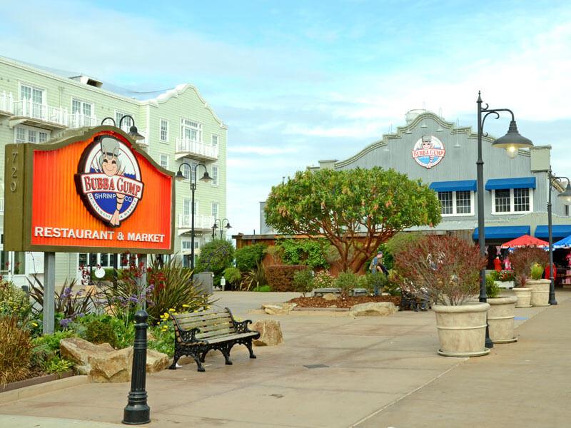 Monterey an der Westküste am Highway No. 1