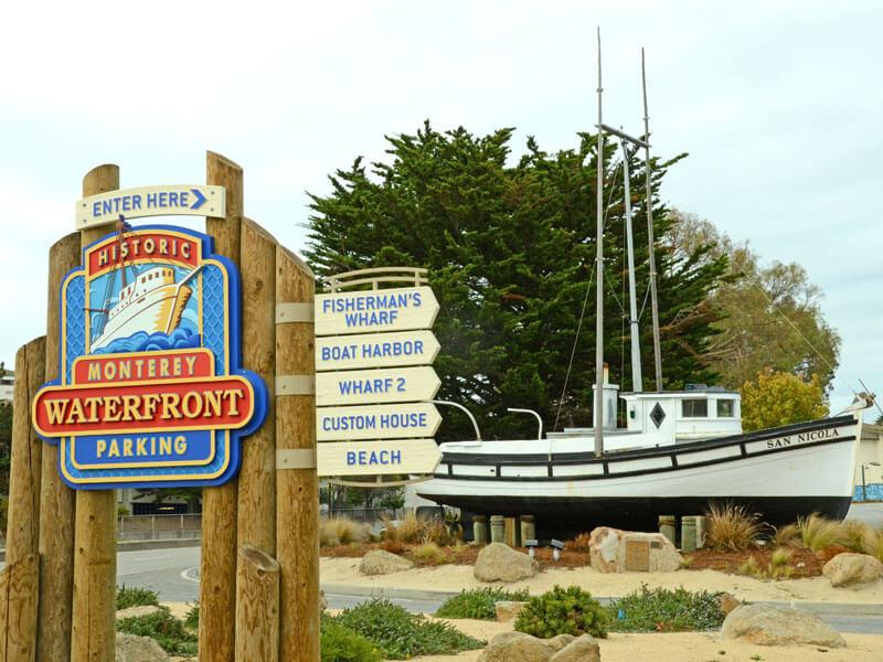 Monterey Waterfront Parking