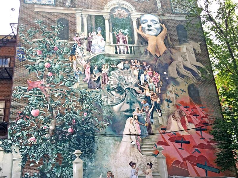Philadelphia Mural Arts Wandbild