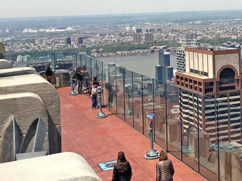 Aussichtsplattform in New York