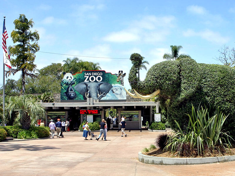 Zoo in San Diego