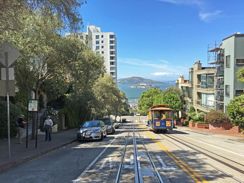 San Francisco Cable Car Alcatraz