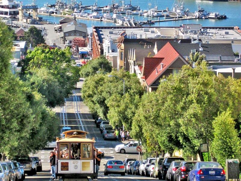 San Francisco Cable Car Hafen