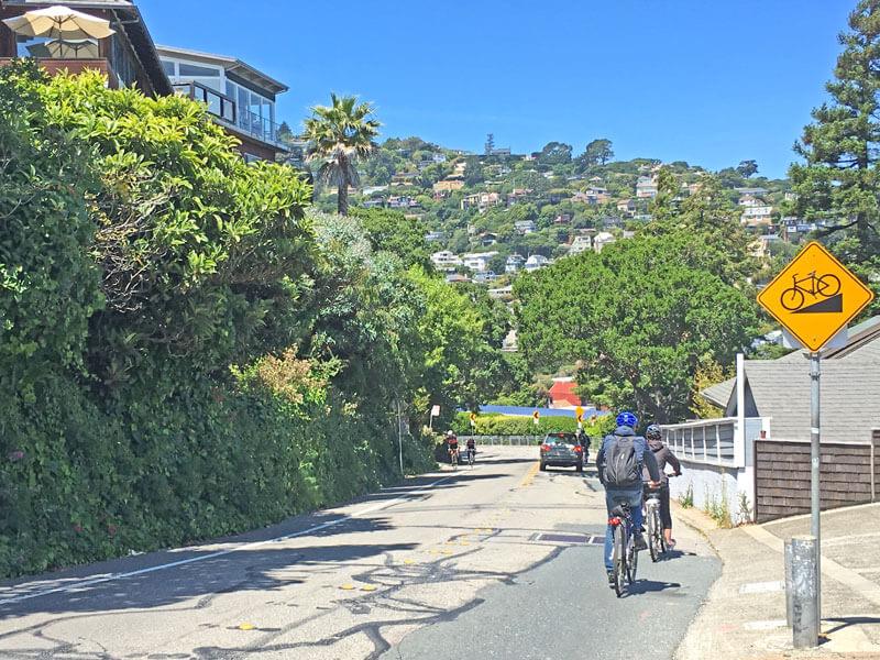 San Francisco Fahrrad ausleihen mit Panoramablick