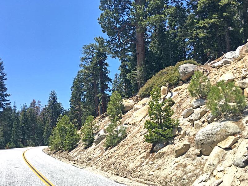 Tioga Pass Yosemite Nationalpark Straße
