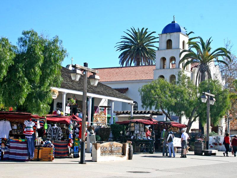 Trolly Tour San Diego Casa de Aguirre