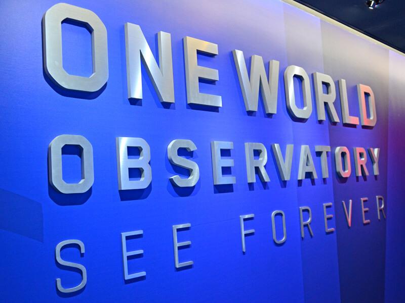 One World Observatory Eingang