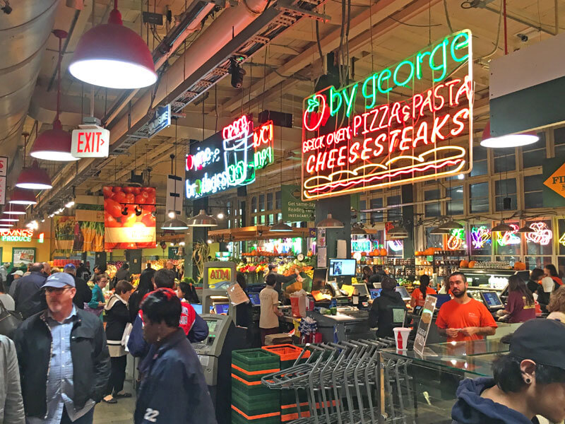 Reading Terminal Market Cheese Steaks