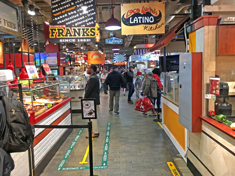 Reading Terminal Market Markthalle