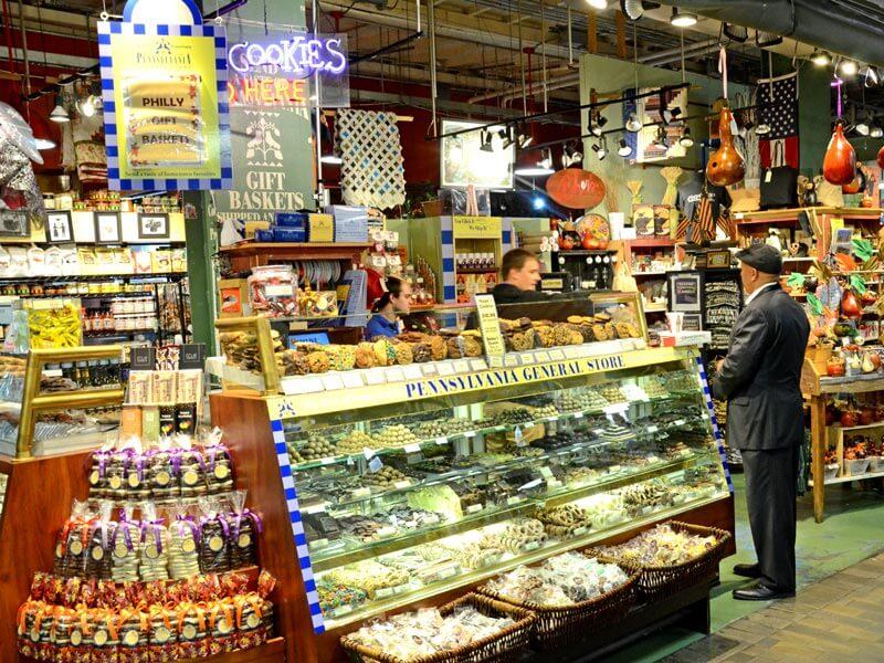 Süßigkeiten im Reading Terminal Market