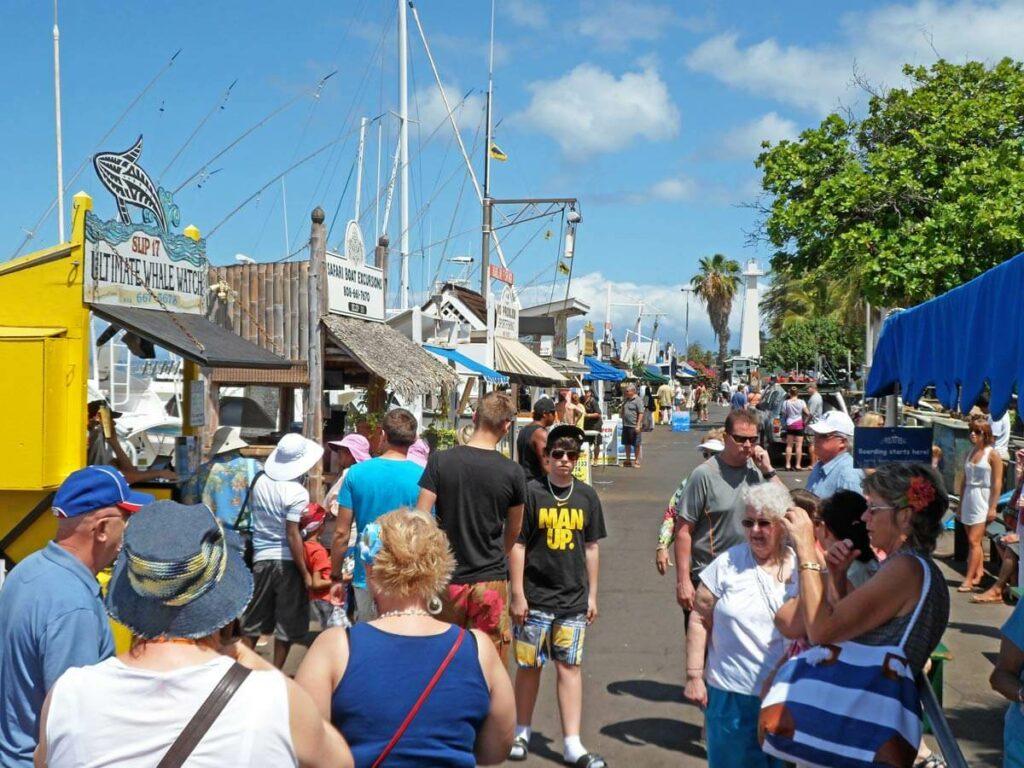 Hafenpromenade in Maui