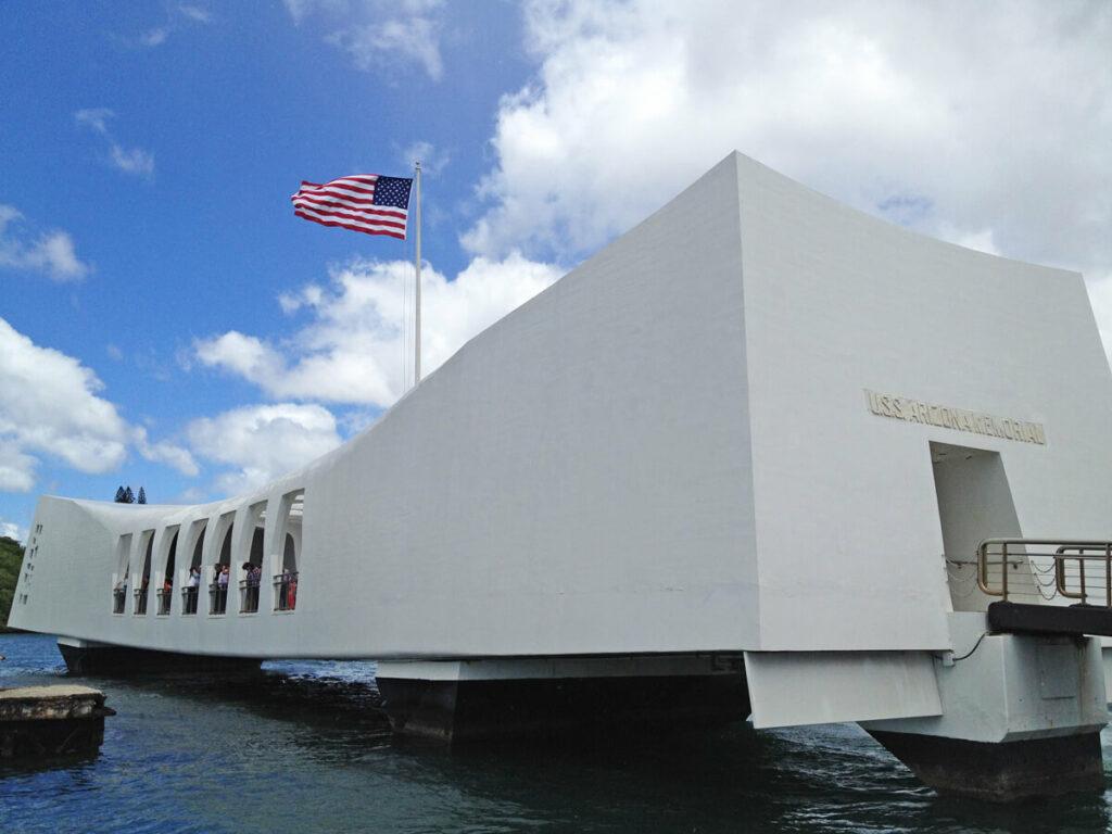 Gedänkstätte der USS Arizona in Pearl Harbor