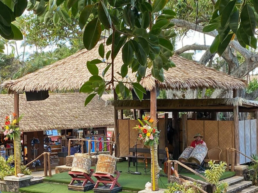Bühne im Polynesian Cultural Center