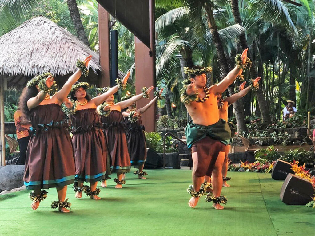 Tanz im Polynesian Cultural Center