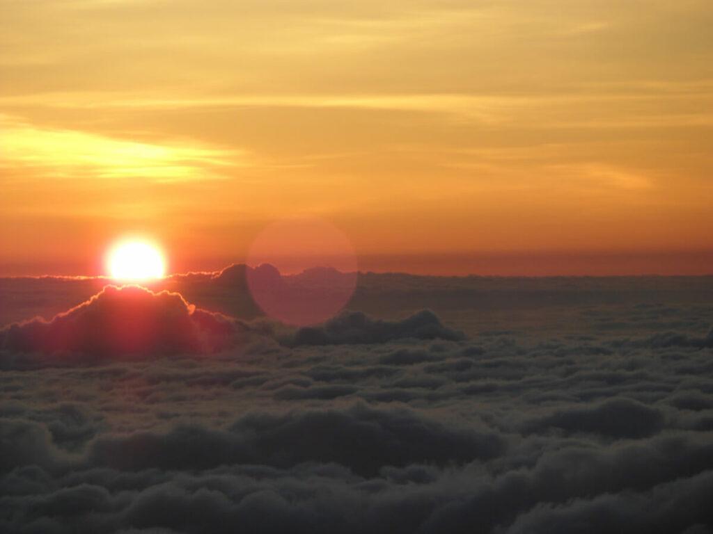 Sonnenaufgang auf dem Haleakalā