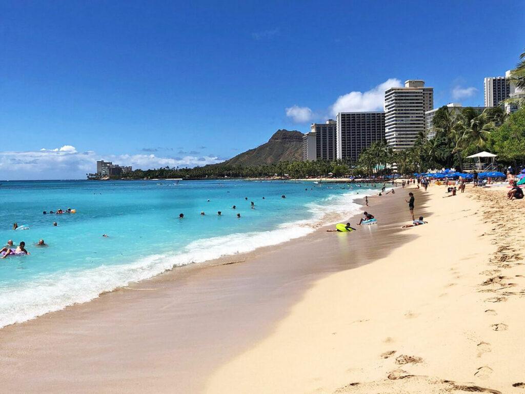 Strand am Waikiki Beach
