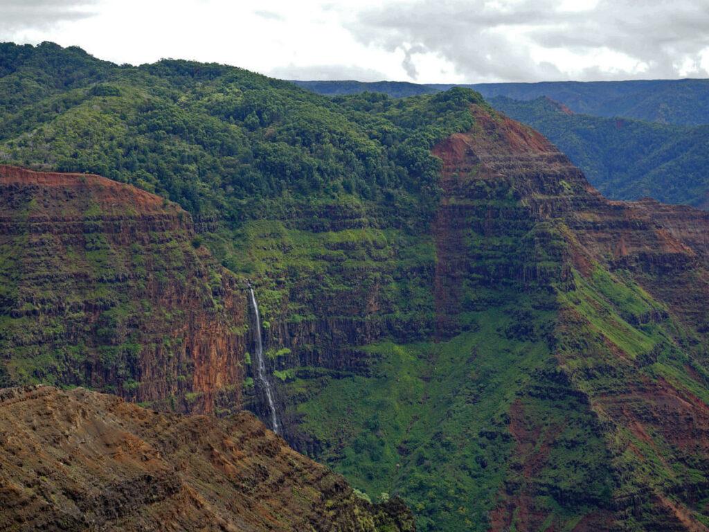 Waimea Canyon Wasserfall