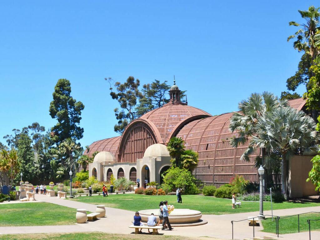 Außenansicht vom Botanischen Garten im Balboa Park